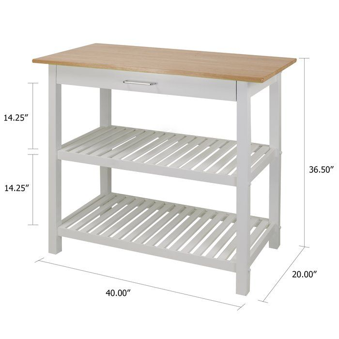 Stenstorp Kitchen Cart White Oak My New York Apartment