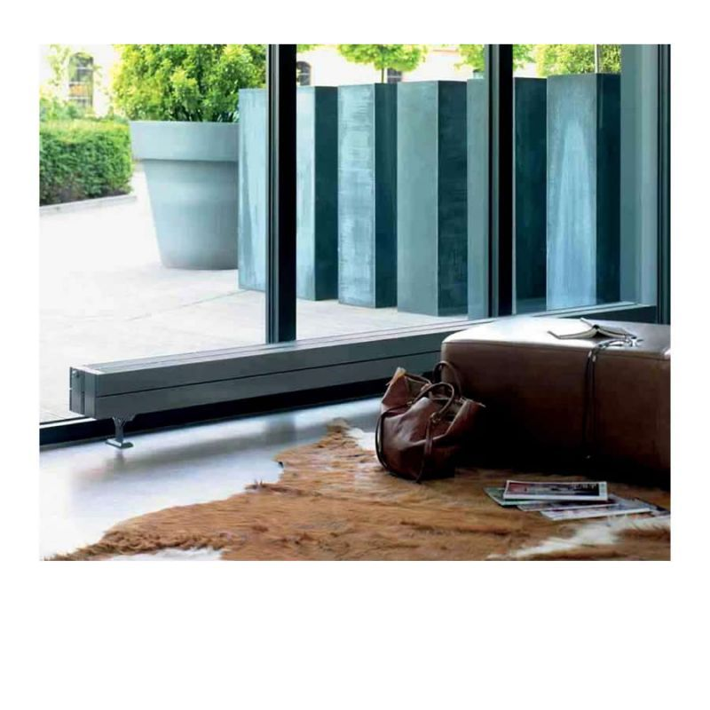 Square, 90 Degree Corners, Tubular Radiator From Zehnder. Product Image For  Zehnder Stratos