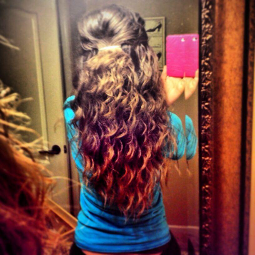 Pin By Micayla Rose On Hair Hair Styles Scrunched Hair Gorgeous Hair Color