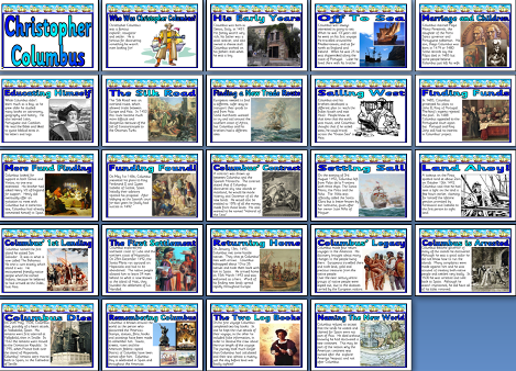 Ks2 history teaching resource christopher columbus explorer ks2 history teaching resource christopher columbus explorer settler and navigator educational display posters ibookread Download