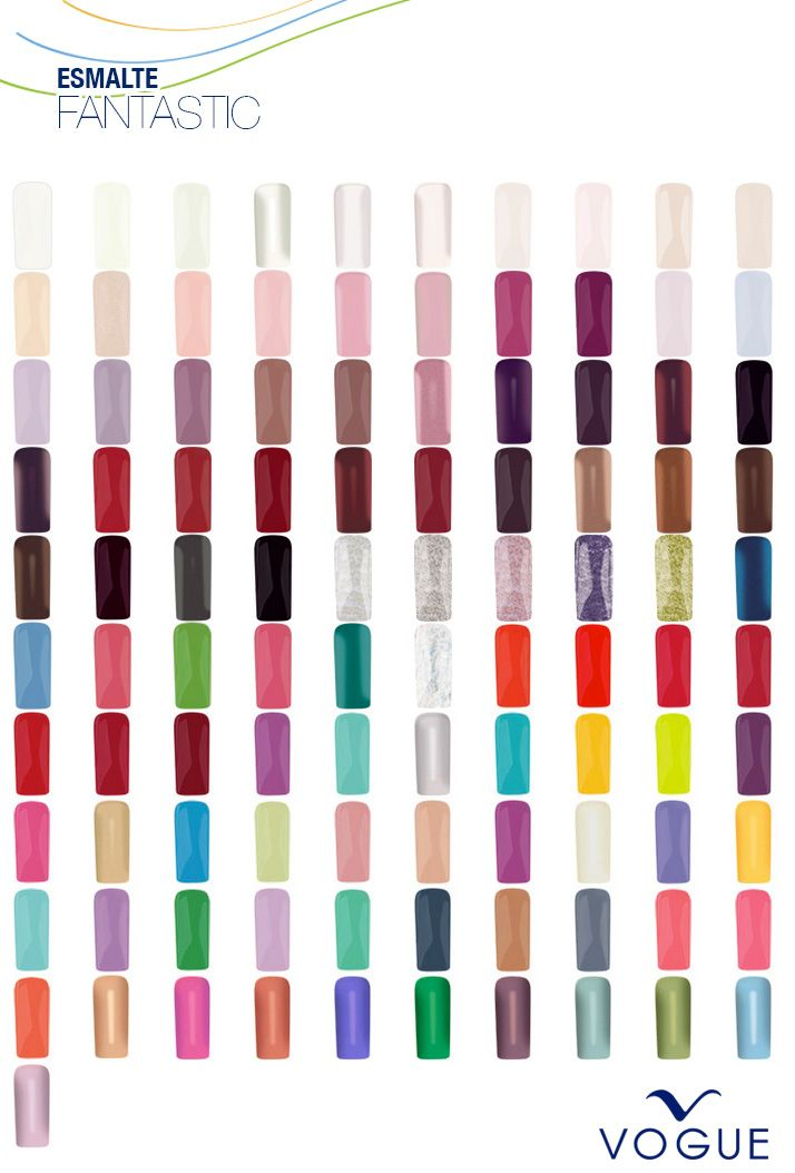 Color Esmalte VOGUE Fantastic | Uñas | Pinterest | Manicure and Makeup