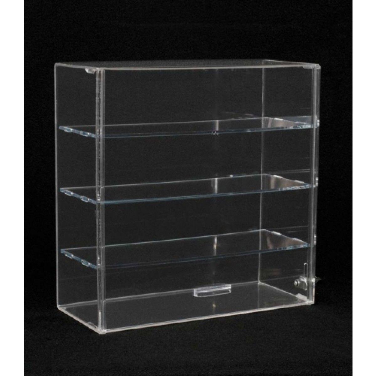 Acrylic Case Display Acrylic Countertop Display Case With Sliding