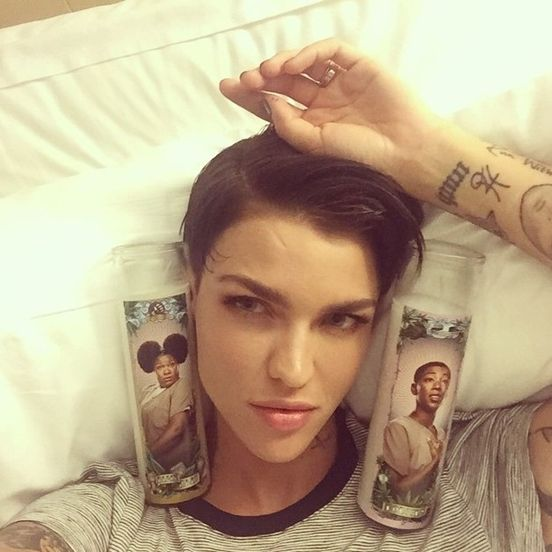 According To Ruby Rose Being Gender Fluid Is Like Having The Best Of Both Sexes 10 Image Gallery Ruby Rose Orange Is The New Black Orange Is The New