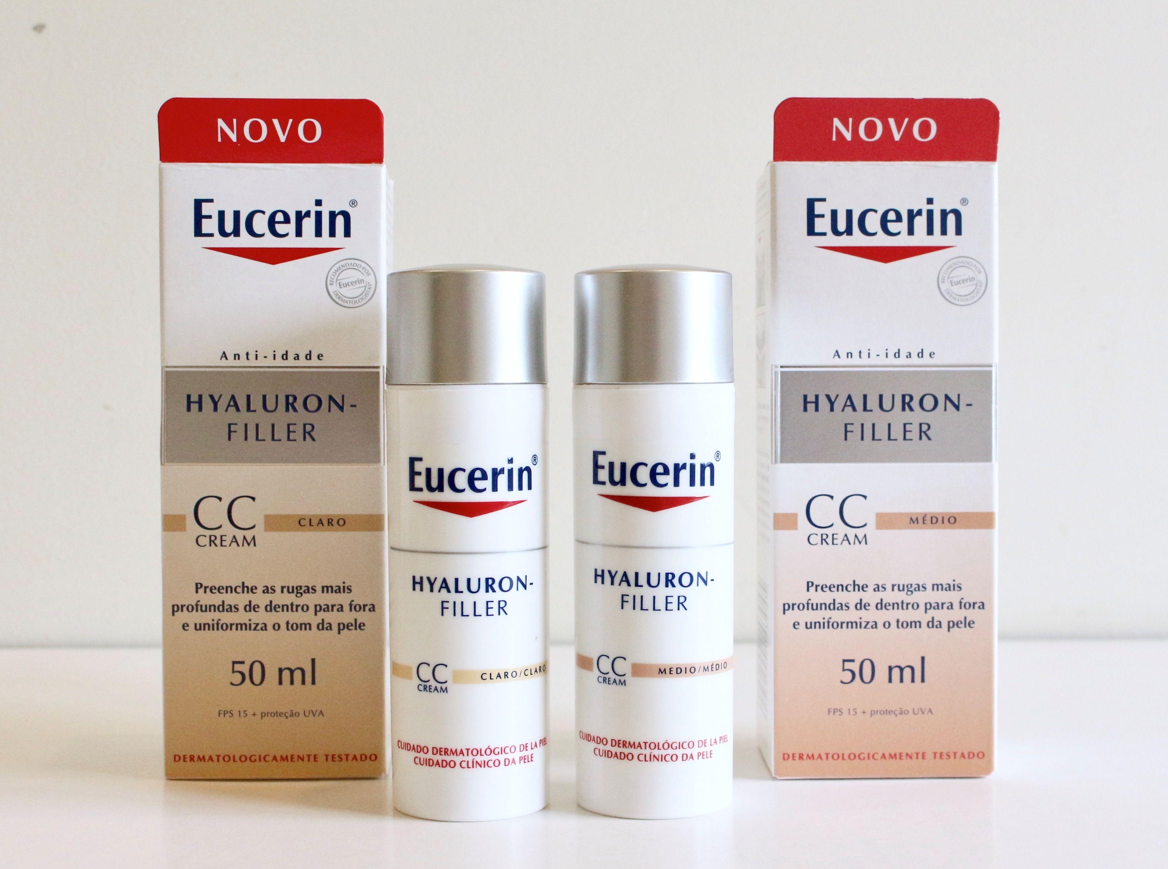 Resenha Hyaluron Filler Cc Cream Da Eucerin Cc Cream Resenha