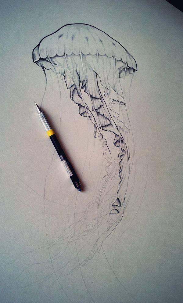 fhbik jellyfish by fhbik artwork via behance