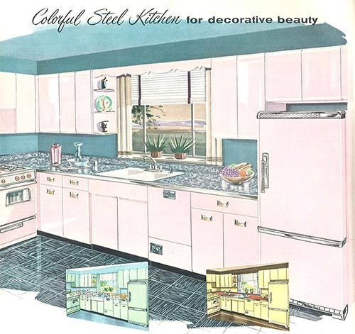 1958 Sears Kitchen Cabinets And More  32 Page Catalog  Kitchens Custom Sears Kitchen Cabinets Design Ideas