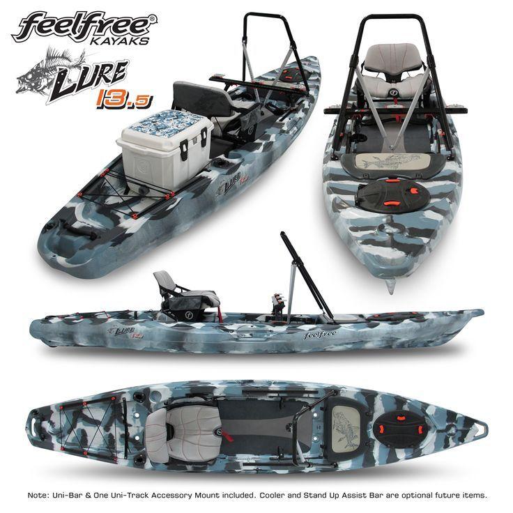 Feelfree Lure 13 5 Compiled Recreational Kayak Fish Kayaking