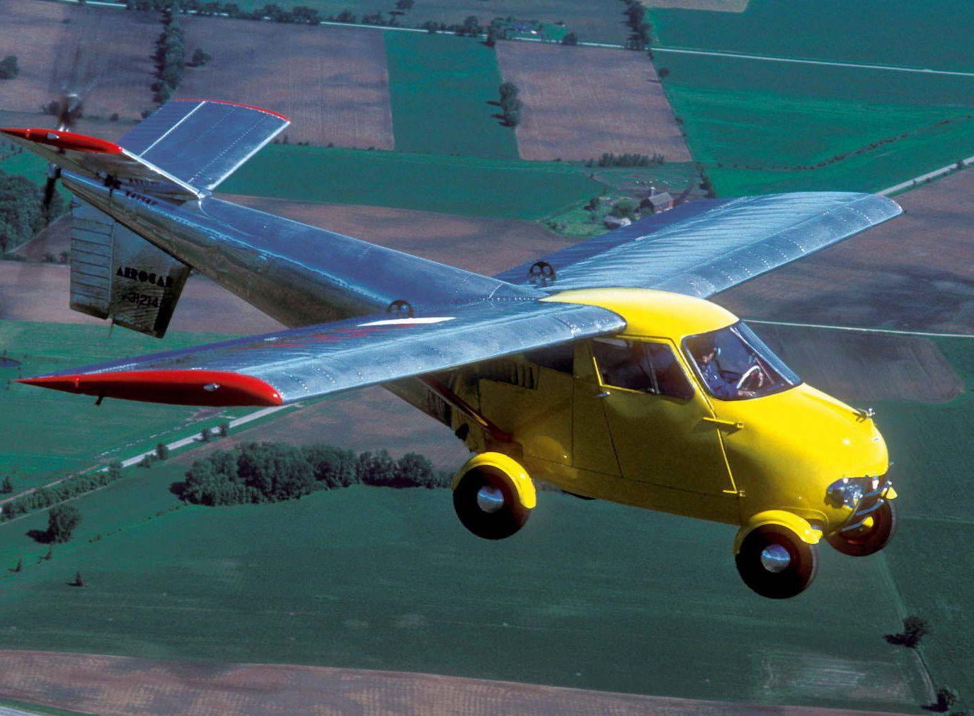 For Sale An Original Aerocar One A 100 Functional