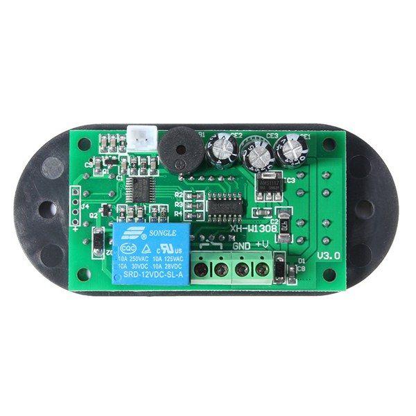 DC12V XD-W2308 Digital Thermostat Temperature Controller Adjustable Sensor Meter Blue LED