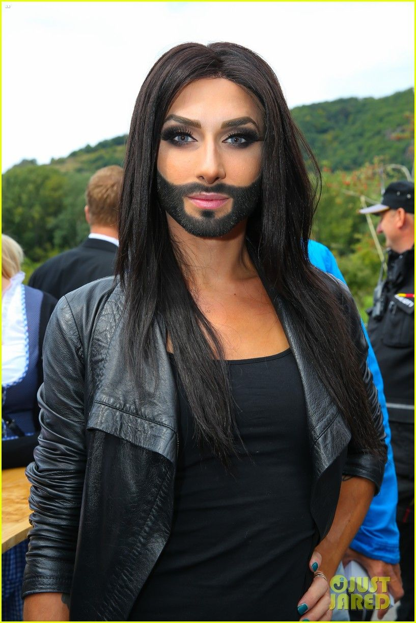 Conchita wurst and dana international in eurovision first star - Who Is Conchita Wurst Bearded Drag Queen Wins Eurovision