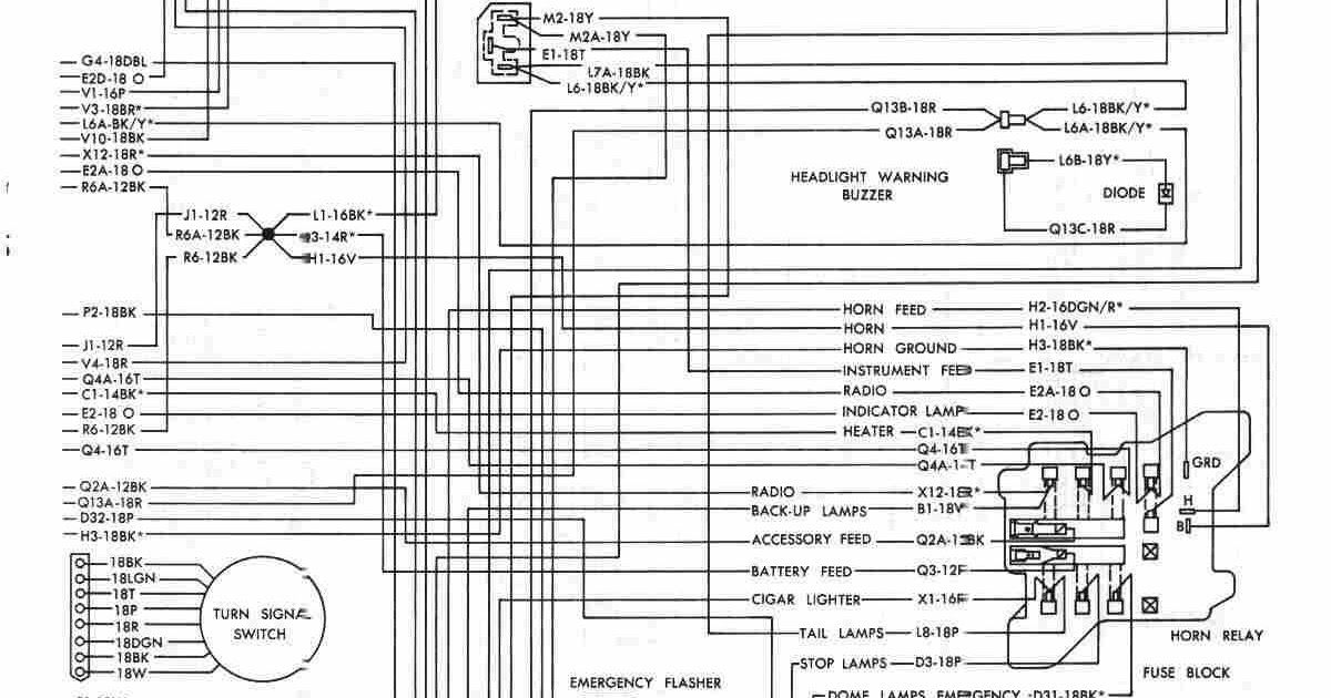 72 Duster Wiring Diagram