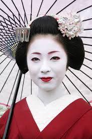 Image result for traditional japanese geisha make up ...