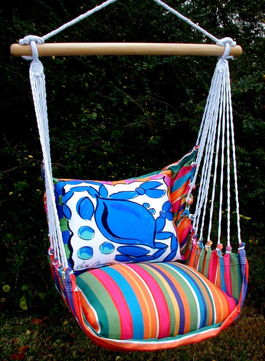 Le Jardin Crab Swing Set Indoor hammock swing chair
