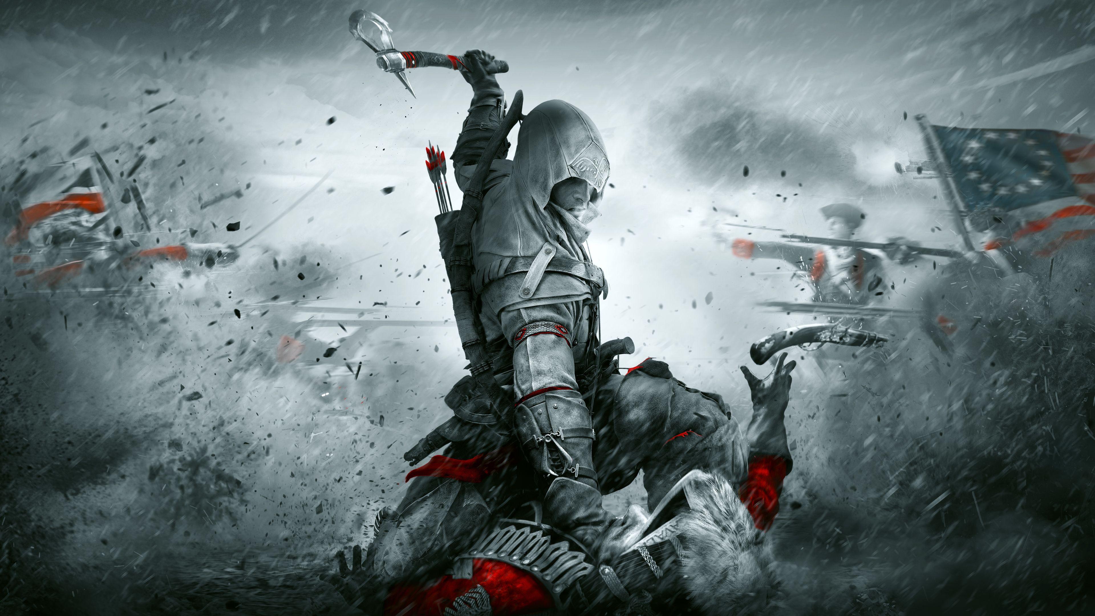 Assassin's Creed III wallpaper wallpaper gaming game