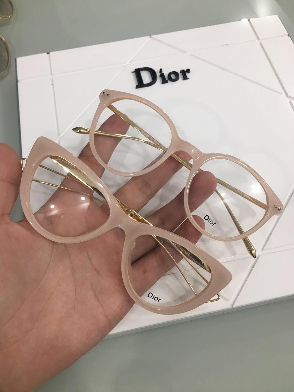 Óculos de Grau Dior e Fendi na cor Nude   Óculos ace8b3415d