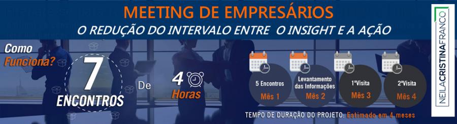 1º Meeting de Empresários ECONTinuada – A Redução do Intervalo entre o Insight e a Ação