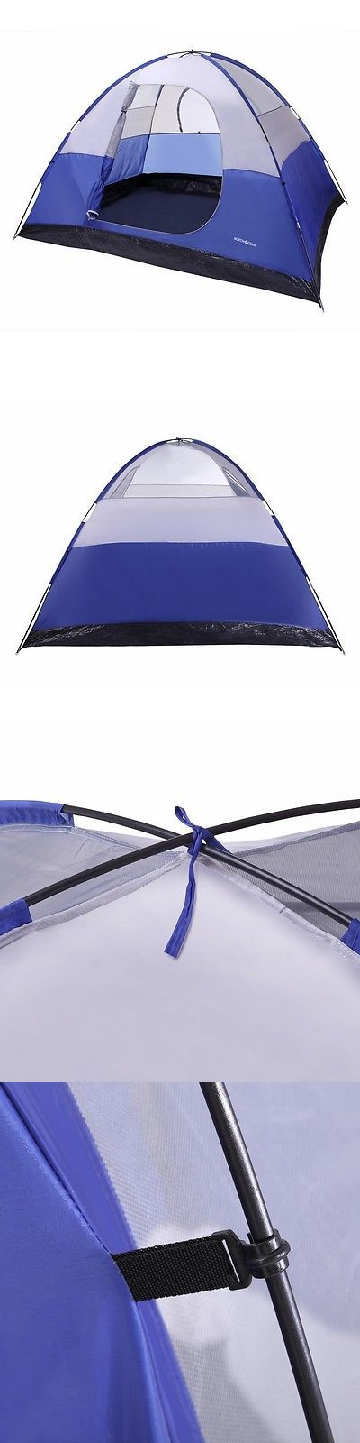 Tents 179010 North Gear C&ing 6 Person Dome Family C&ing Tent In Blue BUY IT & Tents 179010: North Gear Camping 6 Person Dome Family Camping Tent ...