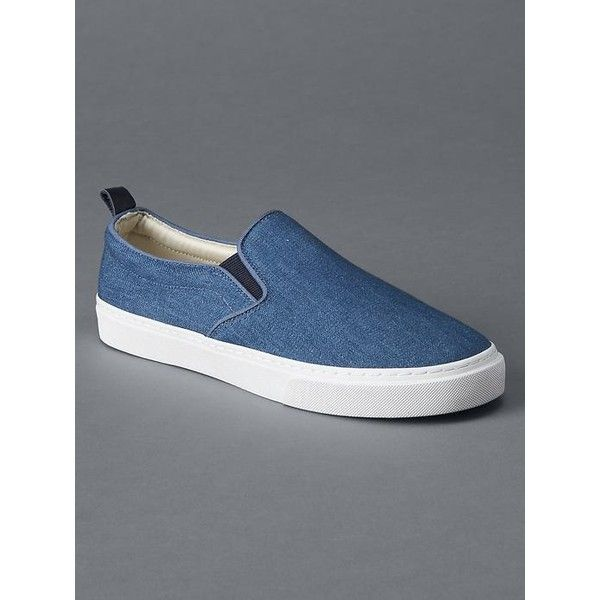 Gap Women Fabric Slip On Sneakers