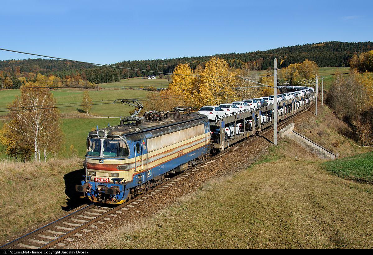 RailPictures.Net Photo: CD 340 062 9 Ceske Drahy CD 340 at Deutsch Hörschlag, Austria by Jaroslav Dvorak