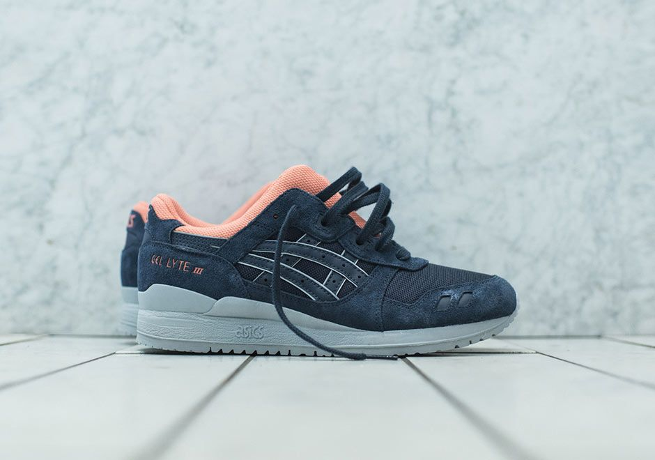 This ASICS Gel Lyte III Kithstrike was slightly released exclusively to  KITH NYC online shop that