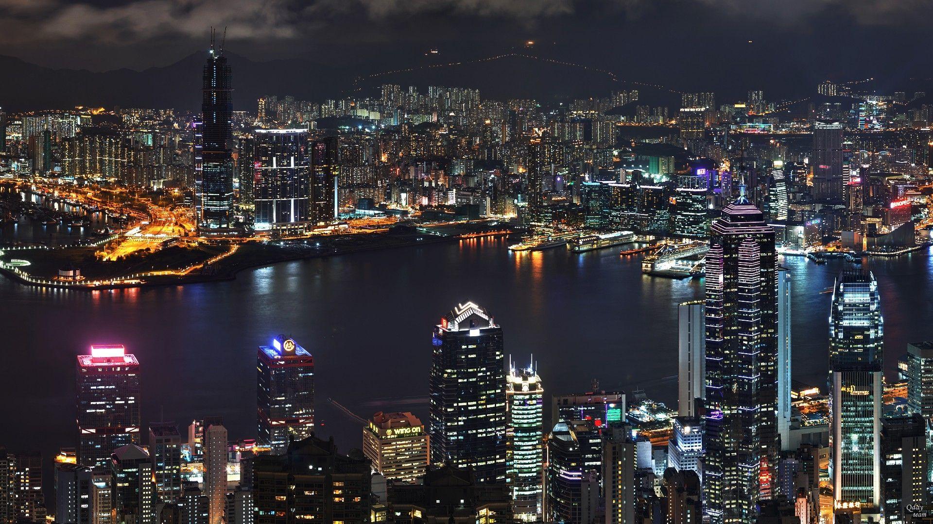 Skyscraper Night Top