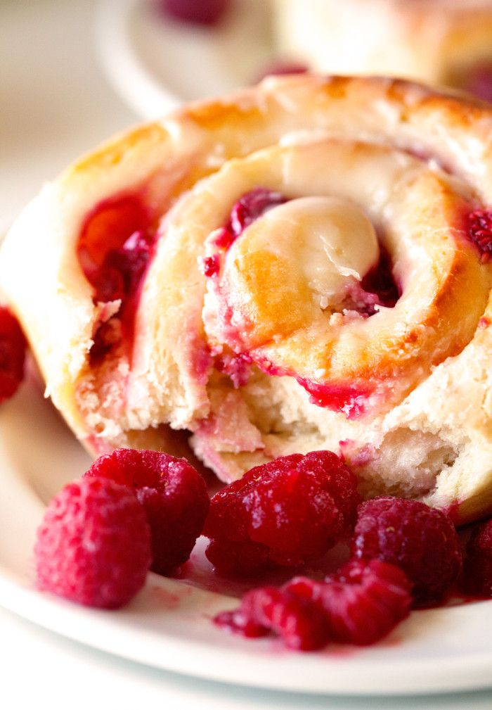 Raspberry Sweet Rolls | Nosh-up