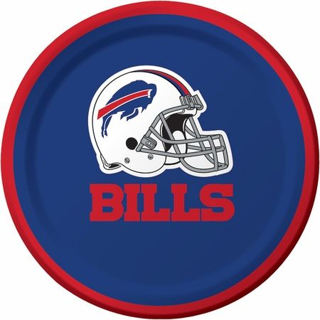 the latest 62499 f6672 Wholesale Buffalo Bills Party Supplies | Tailgating | Plates ...