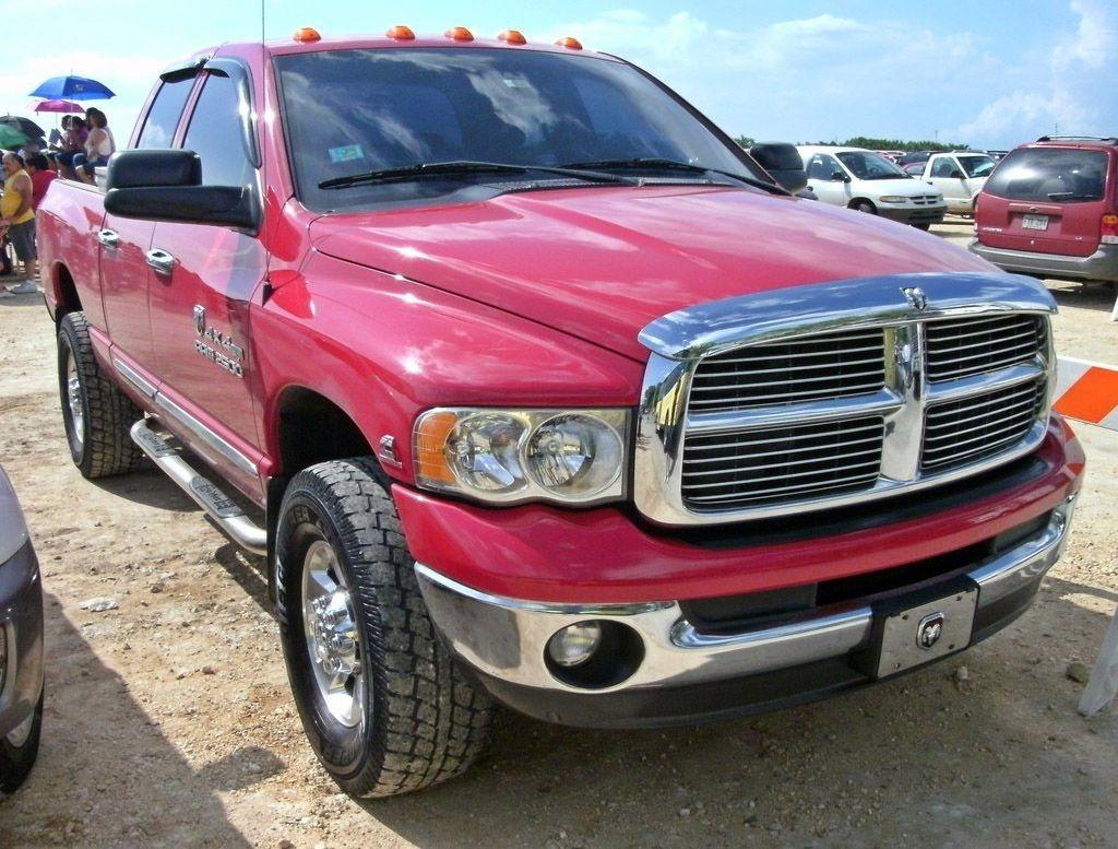 Pink Dodge Ram 5