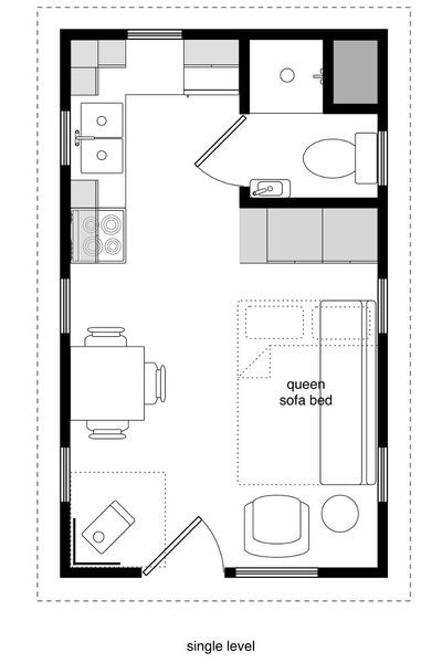12 X 24 House Plans | Joy Studio | Cabin floor plans ...