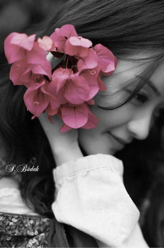 Black white with color splash i love it touche de couleurcouleur