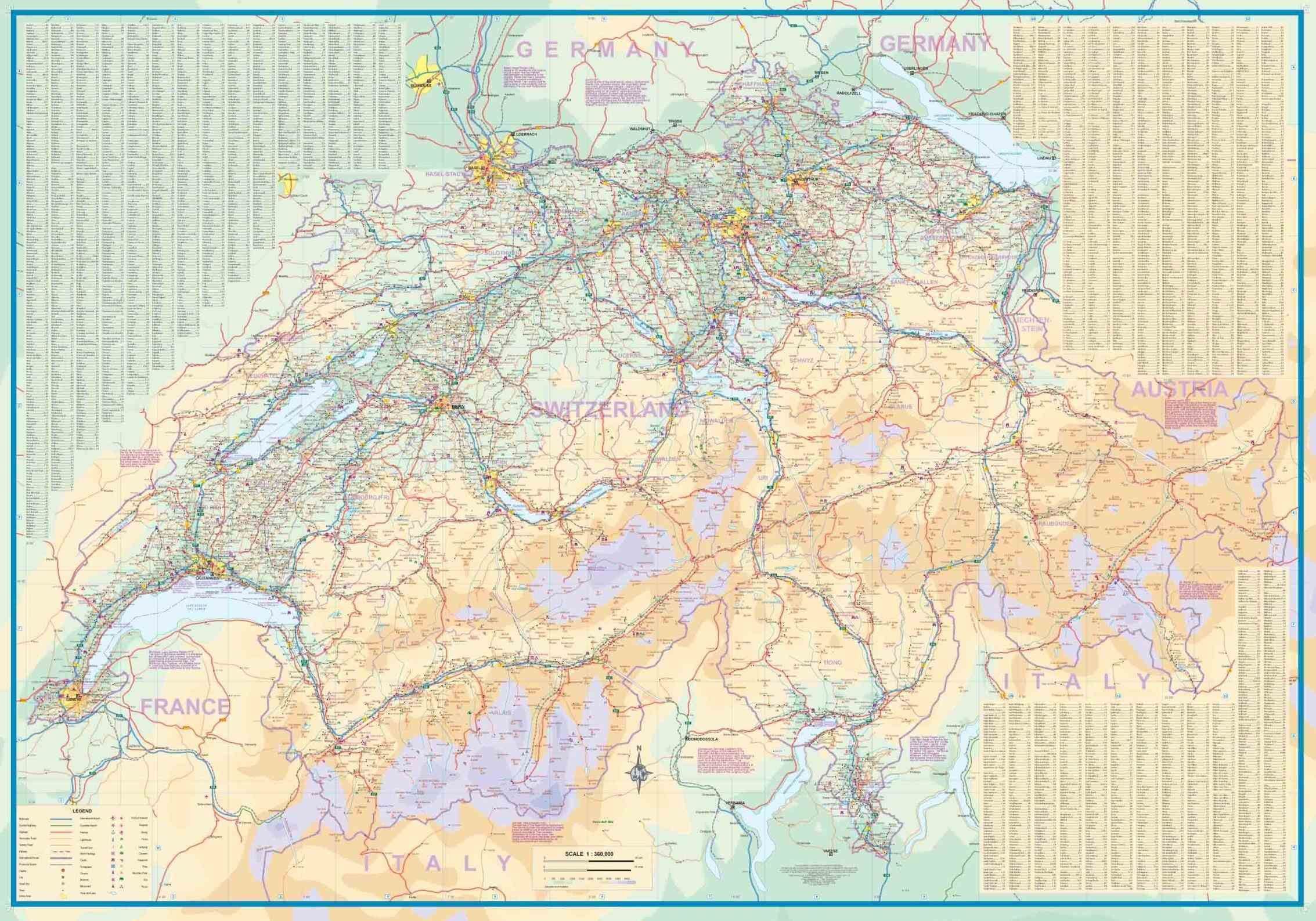 itm scompany s s geneva switzerland map of canton municipality