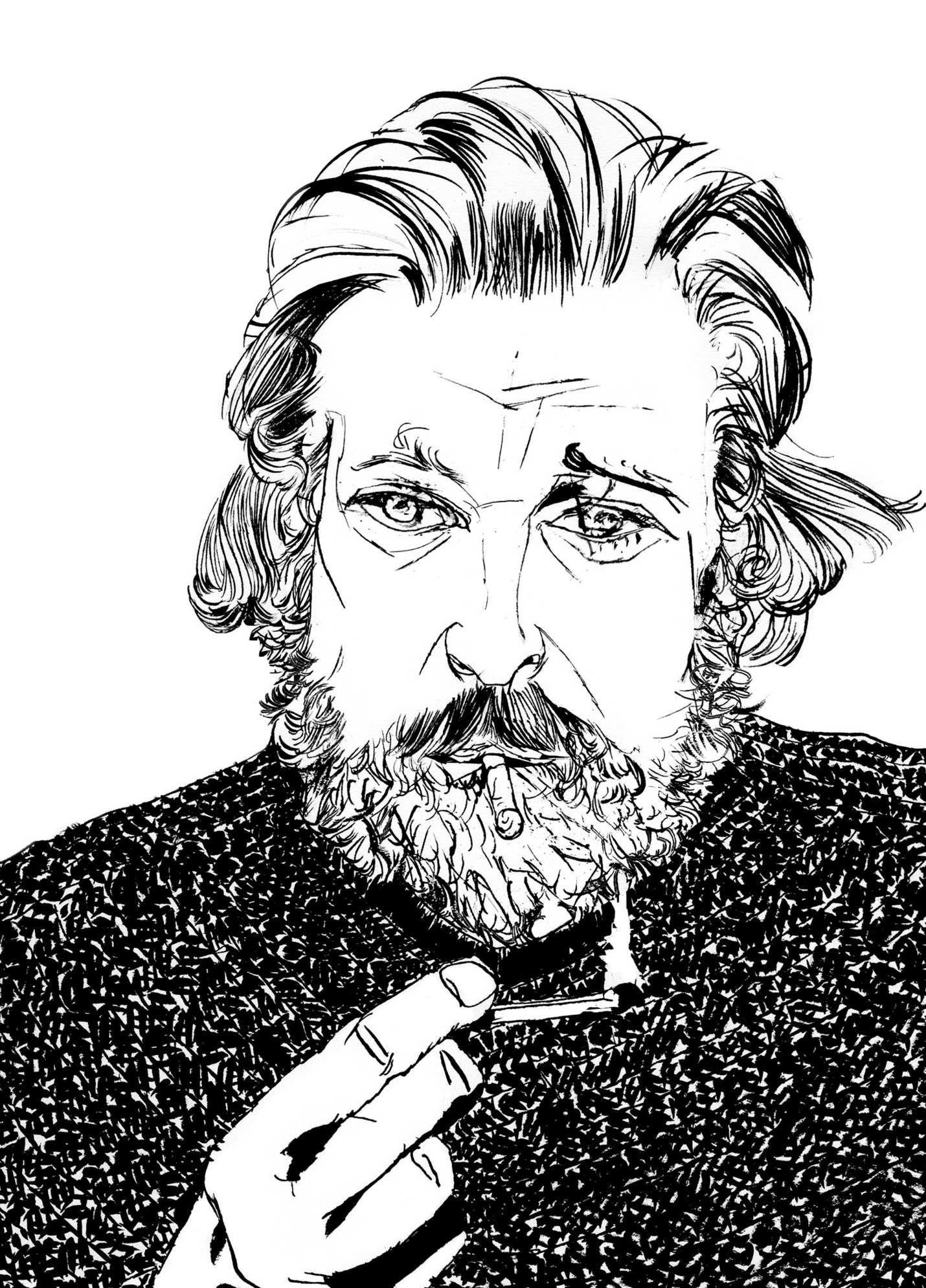 A Portrait Of Author Karl Ove Knausgaard Photo Riccardo Vecchio