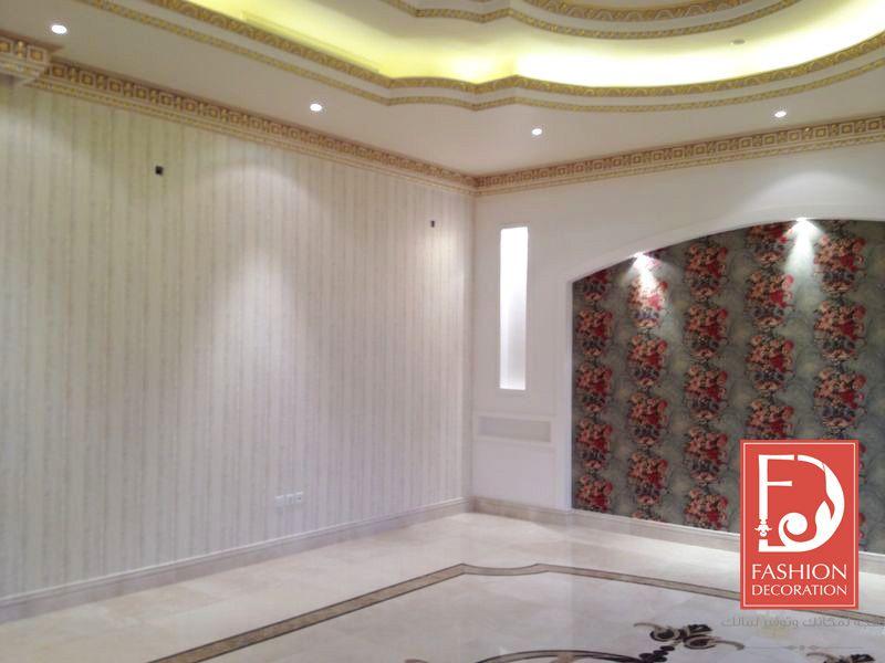 ورق جدران اوروبي 100 Decor Wallpaper ورق جدران ورق حائط ديكور فخامة جمال منازل Decor Valance Curtains Home Decor Decor