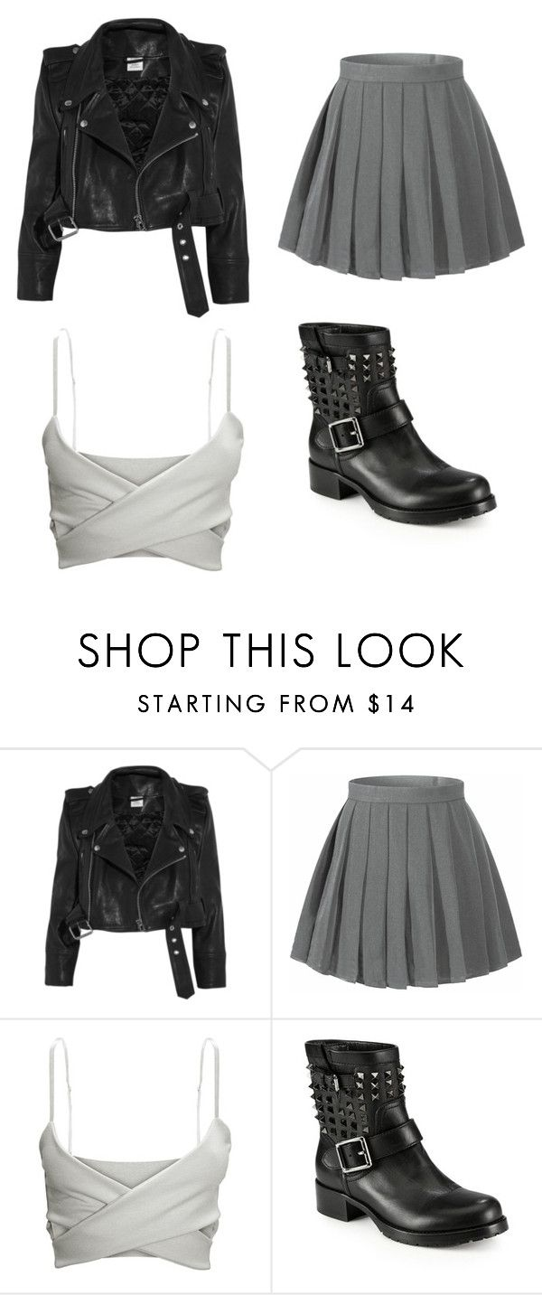 """""""Street style l"""" by jrbenoit ❤ liked on Polyvore featuring Vetements and Valentino"""