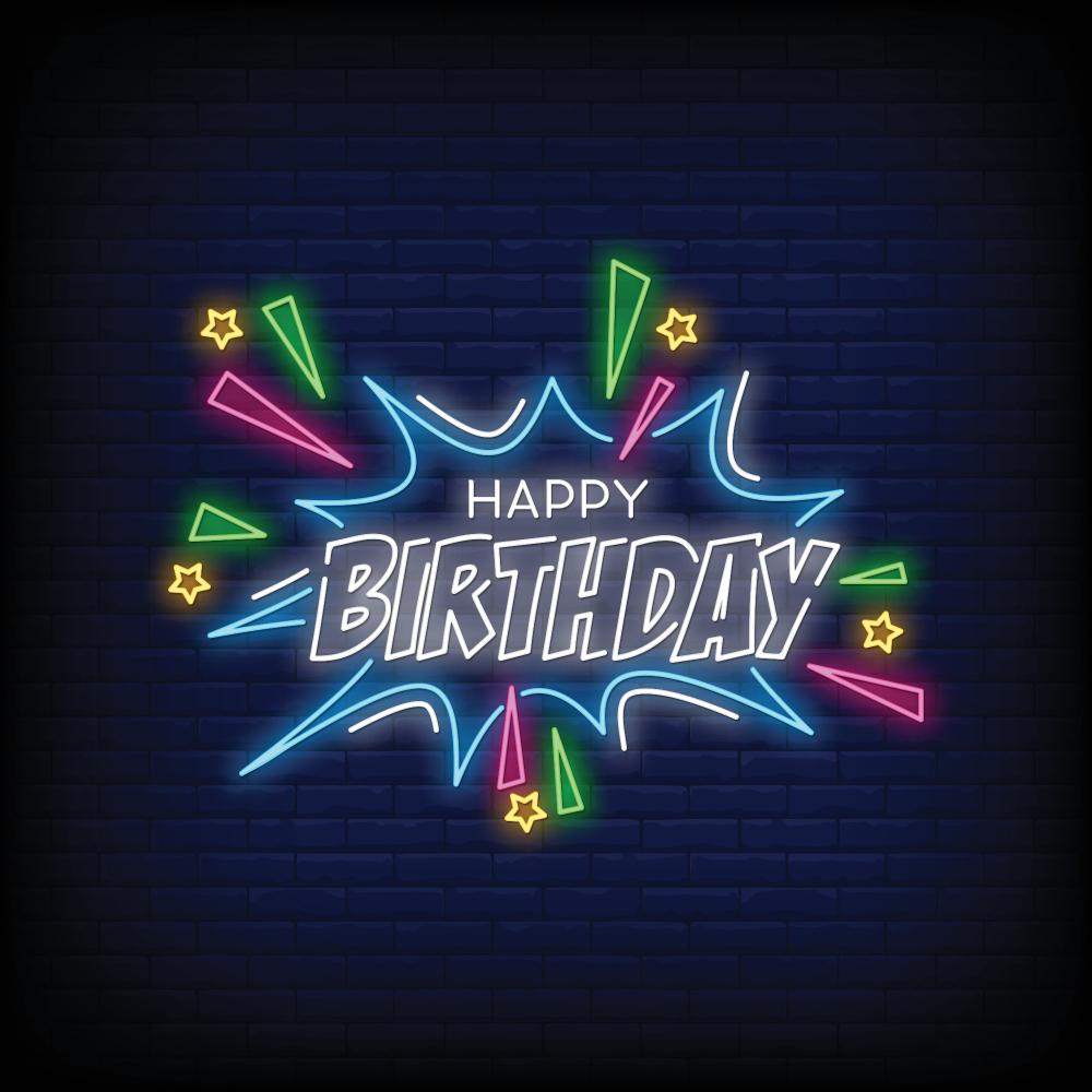Beautiful Happy Birthday Stock Images