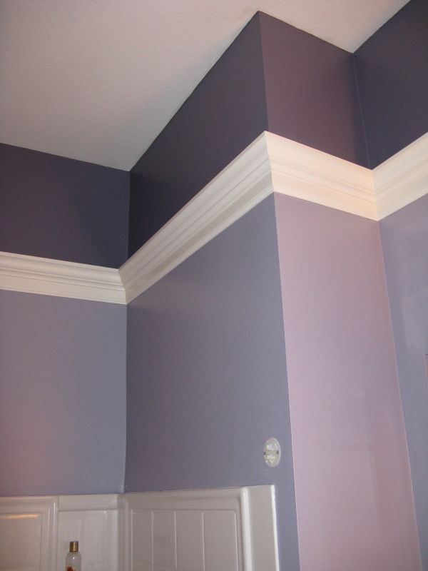 Crown Molding In Bathroom Corner