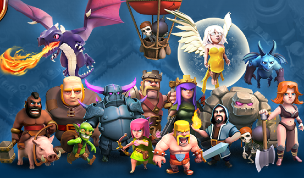 Clash Of Clans Picture Wallpaper For Coc Fans Game Picture