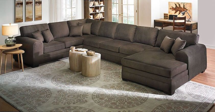 High End Leather Sectional Sofas In 2020 Oversized Sectional Sofa Sectional Sofa With Chaise Large Sectional Sofa