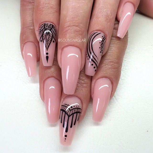 Pin by Liliana Pena on Nails | Pinterest | Nail nail, Henna nails ...