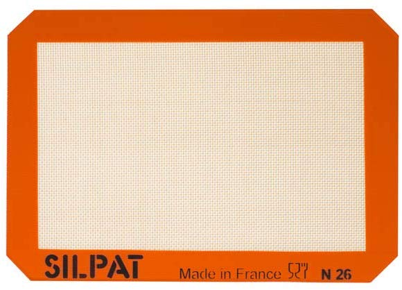 Amazon Com Silpat Premium Non Stick Silicone Baking Mat Half Sheet Size 11 5 8 X 16 1 2 Home Kitchen Silicone Baking Silicone Baking Mat Baking Mat