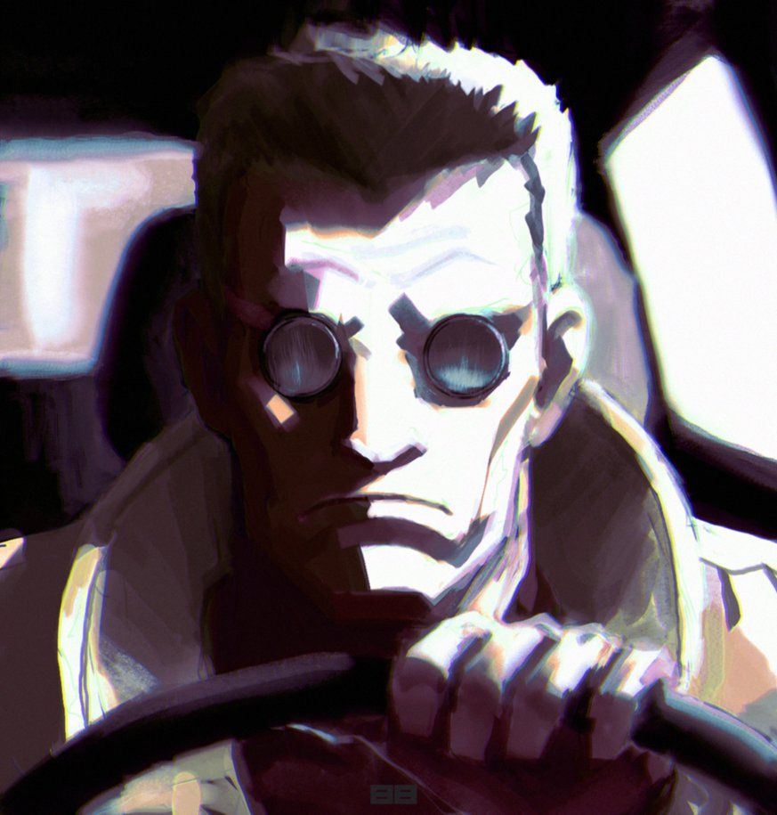 Batou By Robrokop Deviantart Com On Deviantart Ghost In The Shell Art Cyberpunk