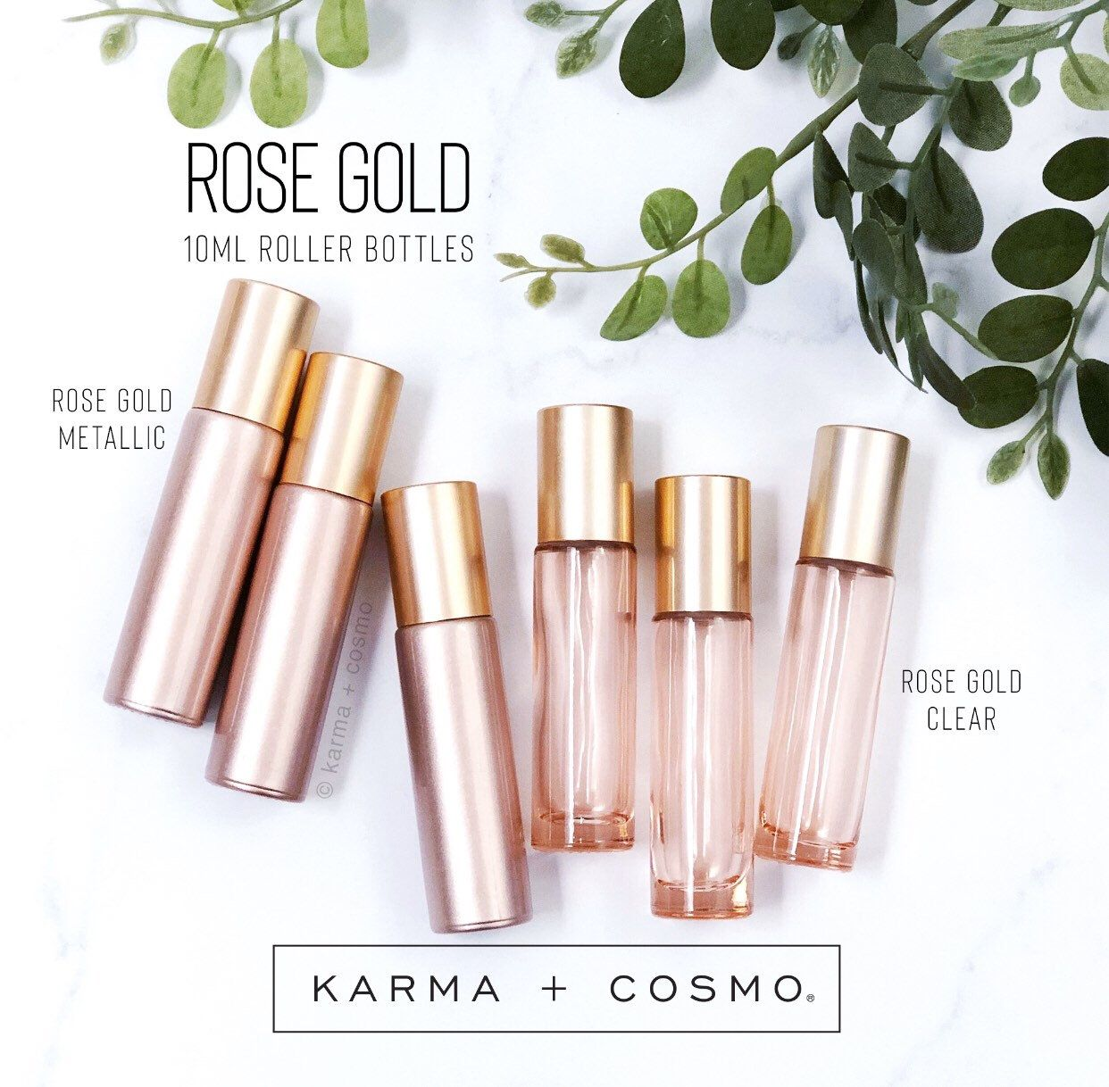 Rose Gold 10ml Essential Oil Roller Bottles Set Of 6 Etsy Essential Oil Roller Bottle Essential Oil Roller Essential Oil Roller Bottle Recipes