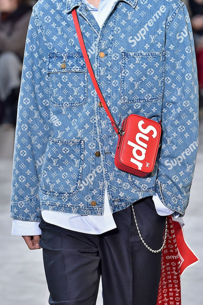 35259b16f1353 Louis Vuitton   Supreme - Inverno 2017