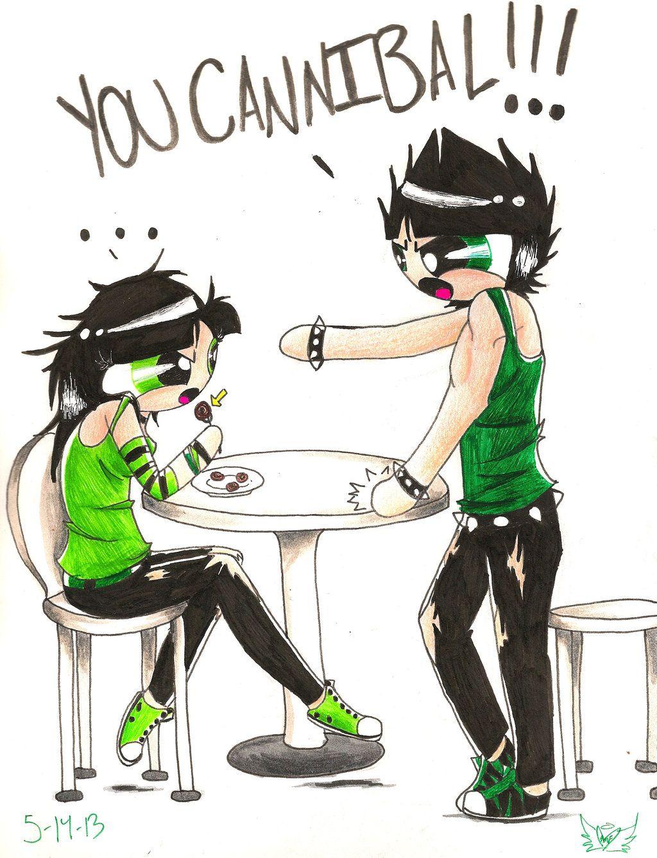 You Cannibal!!! by polarbear1234.deviantart.com on @deviantART