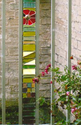 Stained Glass Garden Panel   Google Search