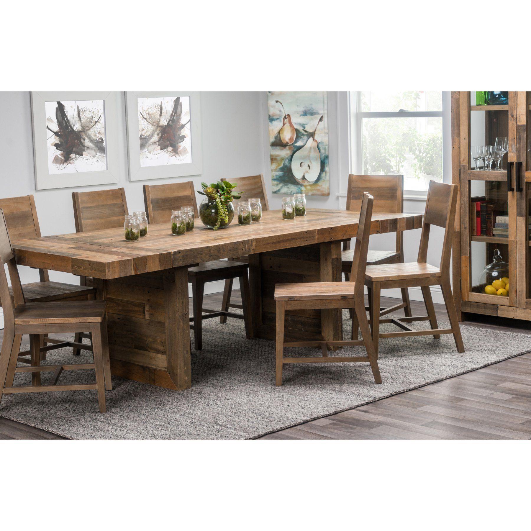 Kosas Home Norman Extension Rectangular Dining Table