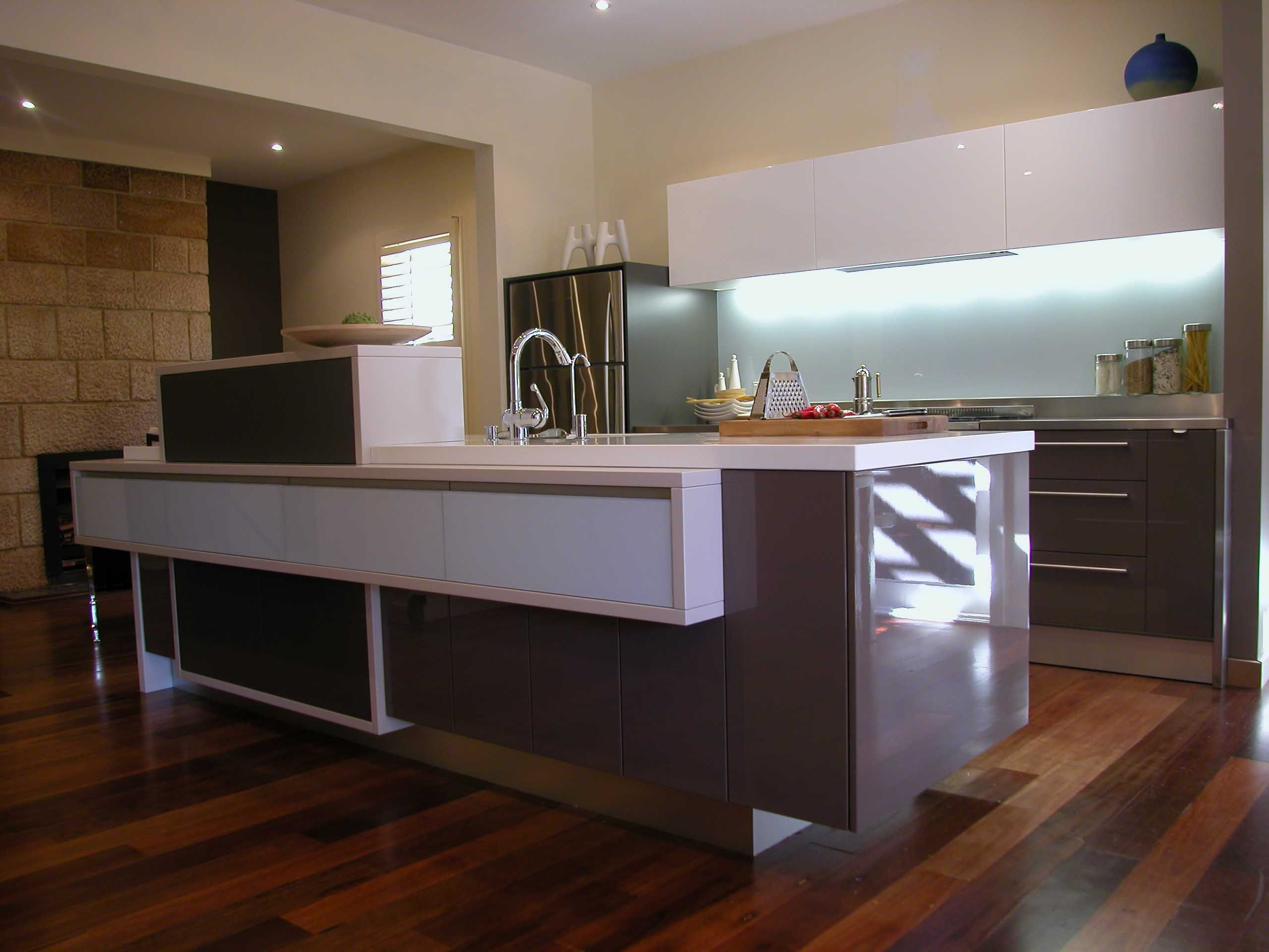 One Wall Kitchens Minosa Kitchen Design Only 12m2 But Has It All Kitchens