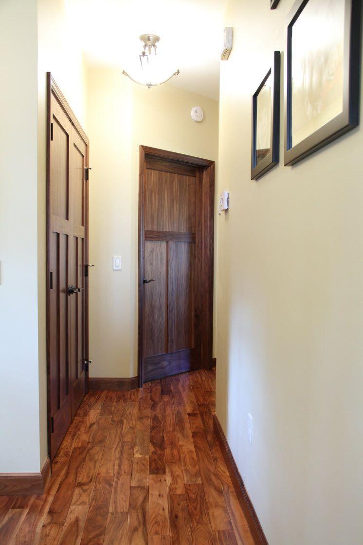 Rustic Craftsman Doors - Interior doors craftsman style rustic interior doors finished with a dark stain bayer built
