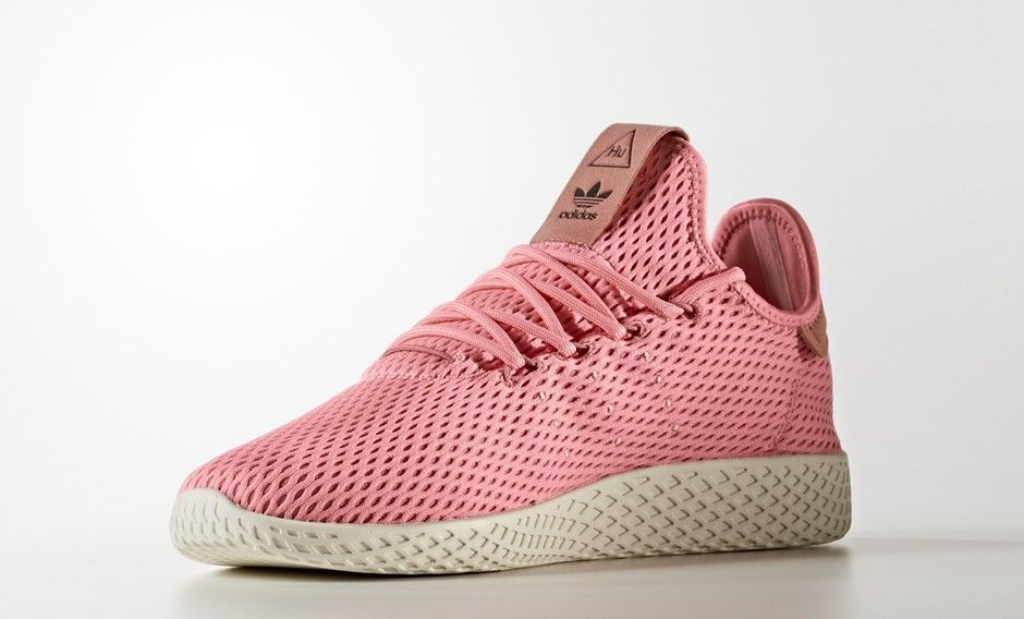 official photos 1628e 51d8c Pharrell x adidas Tennis Hu Pink  BY8715 Color Tactile Rose Tactile Rose