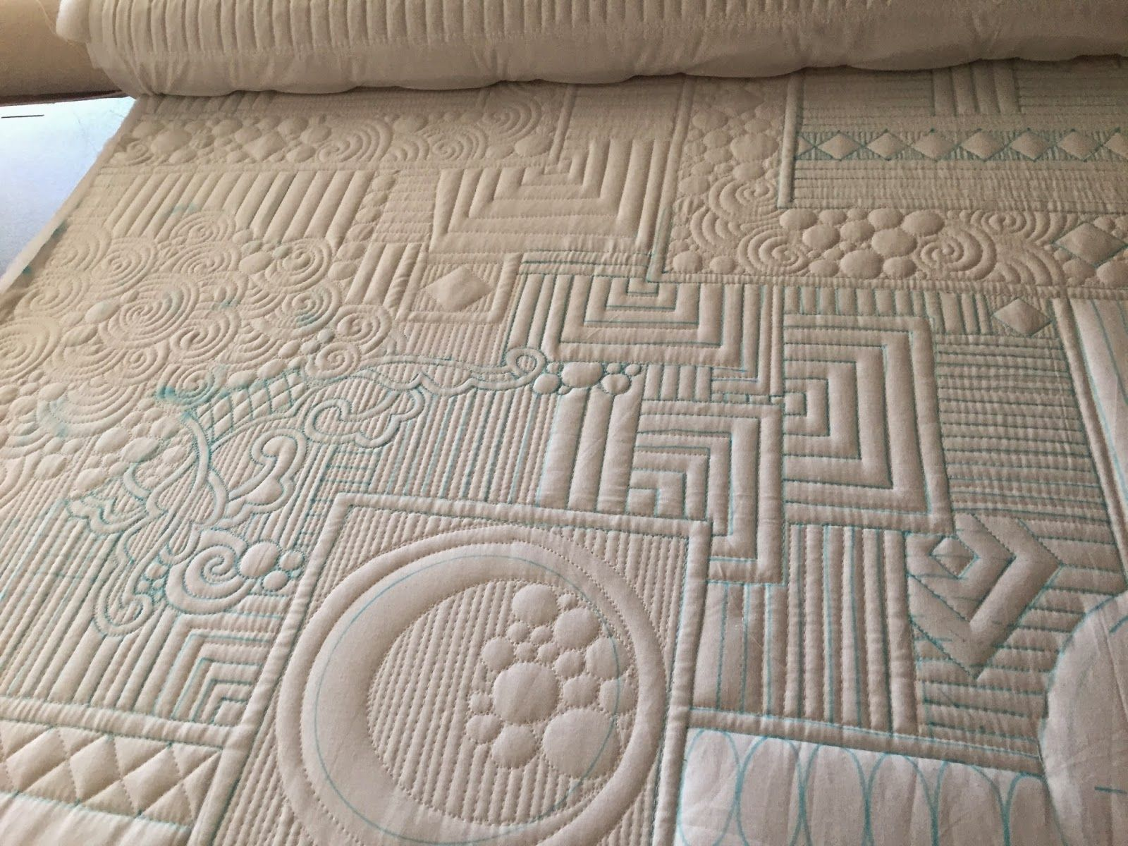 Drawing Lines For Quilting : Negative space with freehand blocks straight lines and circles by
